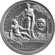 20 Euro (Birth of empress Maria Theresa - clency and faith) – reverse