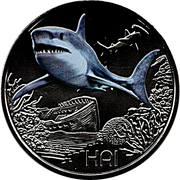 3 Euro (The Shark) – obverse