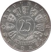 25 Schilling (Burgenland) -  obverse