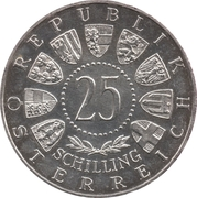 25 Schilling (National Theater) -  obverse