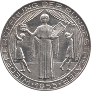 25 Schilling (National Theater) -  reverse