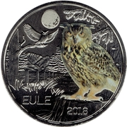 3 Euro (The Owl) -  obverse