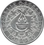 10 Euro (Heavenly Messengers: Uriel - The Illuminating Angel) -  obverse