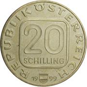 20 Schilling (Hugo von Hofmannsthal) -  obverse
