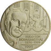 20 Schilling (Hugo von Hofmannsthal) -  reverse
