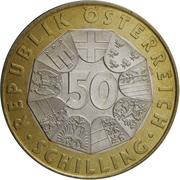 50 Schilling (Austrian EU Presidency) -  obverse