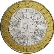 50 Schilling (Konrad Lorenz) -  obverse