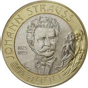 50 Schilling (Johann Strauss) -  obverse