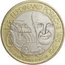 50 Schilling (Ferdinand Porsche) – obverse