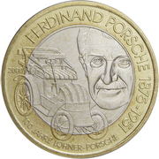 50 Schilling (Ferdinand Porsche) -  obverse