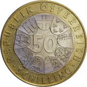 50 Schilling (Ferdinand Porsche) -  reverse