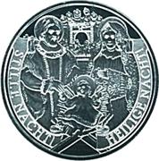 20 Euro (200 years Silent Night) -  reverse