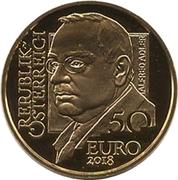 50 Euro (Alfred Adler) – obverse