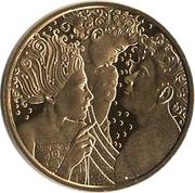 50 Euro (Alfred Adler) – reverse