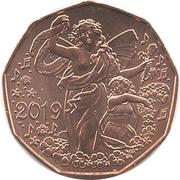 5 Euro (New Year 2019) -  reverse