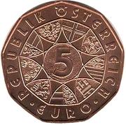5 Euro (New Year 2019) – reverse