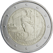 2 Euro (Republic of Austria) -  obverse