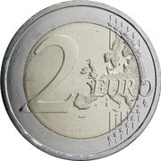 2 Euro (Republic of Austria) -  reverse