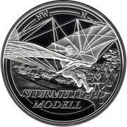 20 Euro (Dream of Flight - Reaching for the Sky) – reverse