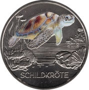 3 Euro (The Turtle) – obverse