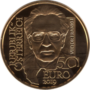 50 Euro (Viktor Frankl) -  obverse