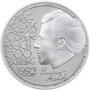 500 Schilling (Gustav Mahler) -  obverse