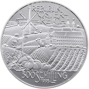 500 Schilling (Austrian Hill Country) -  obverse