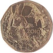 5 Euro (Easter coin 2019) -  reverse