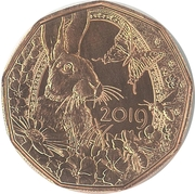5 Euro (Easter coin 2019) -  obverse