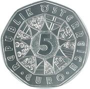 5 Euro (Easter coin 2019) – reverse