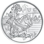 10 Euro (Chivalry, colored) -  reverse