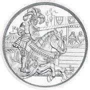 10 Euro (Chivalry, colored) -  reverse