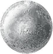 20 Euro (Moon landing) -  reverse