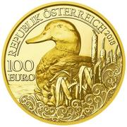 100 Euro (Mallard duck) -  obverse