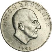 25 Schilling (Anton Bruckner) -  reverse