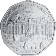 5 Euro (Austrian EU Presidency) -  reverse