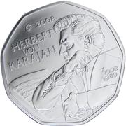 5 Euro (Herbert von Karajan) -  obverse