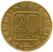 20 Schilling (Joseph Haydn) -  obverse