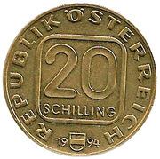 20 Schilling (Vienna Mint) -  obverse
