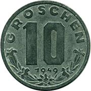 10 Groschen – reverse