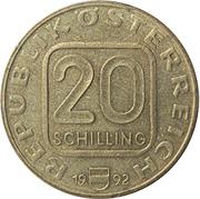 20 Schilling (Freedom of Tirol) -  obverse