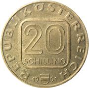 20 Schilling (Vorarlberg) -  obverse