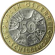 50 Schilling (Austria) -  reverse