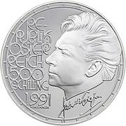 500 Schilling (Herbert von Karajan) -  obverse