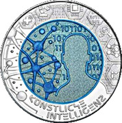 25 Euro (Artificial Intelligence) -  reverse