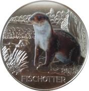 3 Euro (The Otter) – reverse
