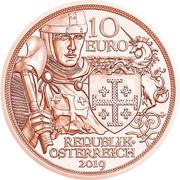 10 Euro (Godfrey of Bouillon) -  obverse
