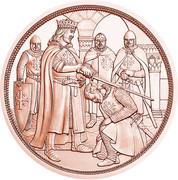 10 Euro (Godfrey of Bouillon) -  reverse