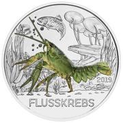 3 Euro (The Crayfish) -  reverse