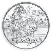 10 Euro (Chivalry) -  reverse